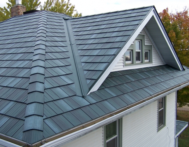 Any experience with steel roofing heat color for Modern roof shingles